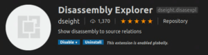 Disassembly Explorer
