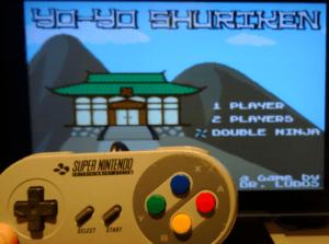 Yoyo Shjuriken home made SNES game