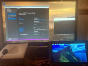 Touchscreen and 2nd monitor on Raspberry Pi