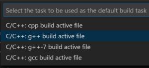 Vs Configure C++