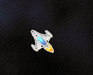Asteroids game - player ship rotation