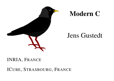 Modern C by Jens Gustedt