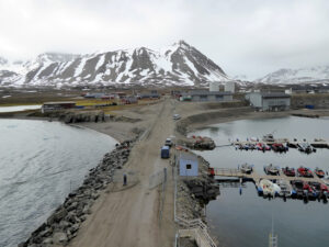 Svalbard taken from a cruise ship in 2015