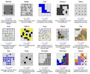 Simon Grantham Puzzles
