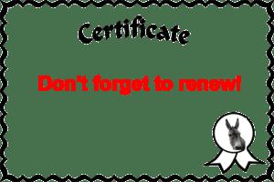Certificate ass u me