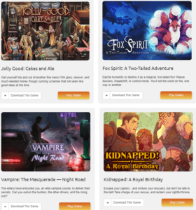 Choicve of Games Interactive Fiction
