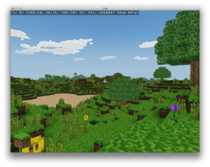 Open source Minecraft clone in C
