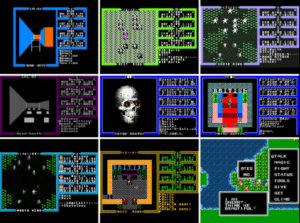 Ultima 3 screens