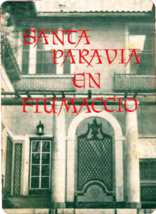 Santa Paravia en Fiumaccio