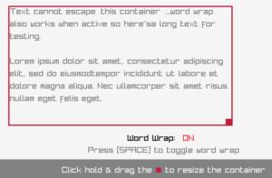 Raylib Wordwrap