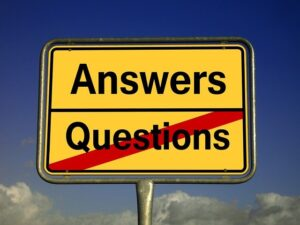 Answer sign