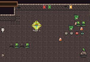 DungeonRush game